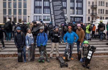 <pre>Tyskland stemmer ja for at legalisere e-scootere op til 20 km