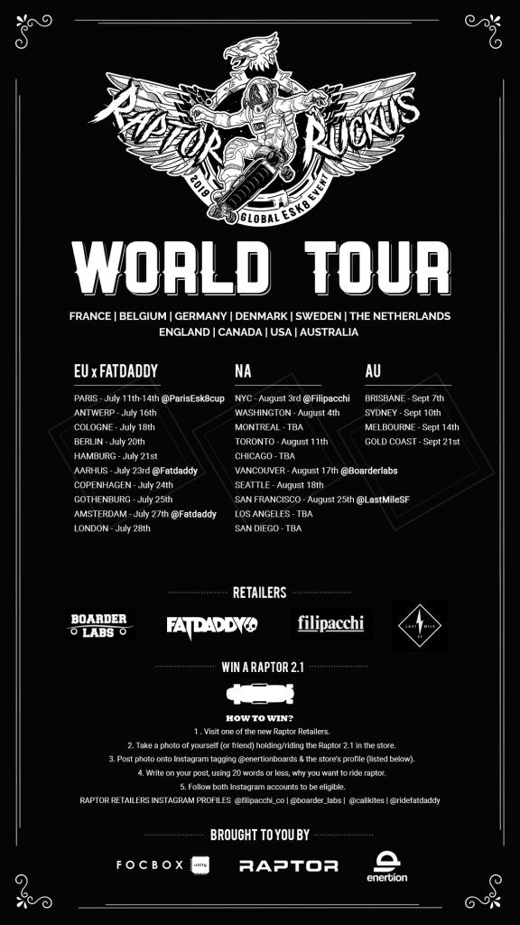 Fatdaddy enertion raptor europa tour