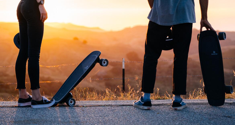<pre>De bedste stash and go elektriske skateboards