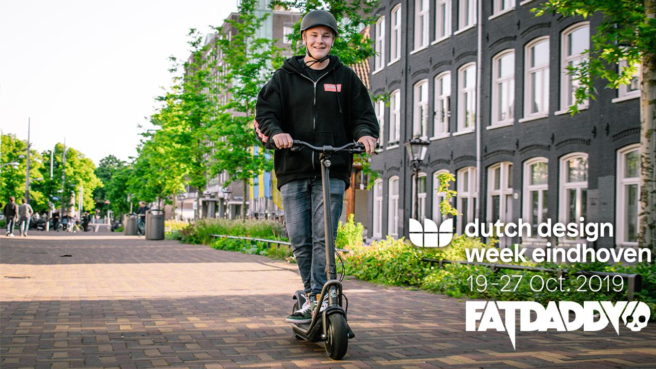 <pre>Fatdaddy vil være vært for e-mobilitetsoplevelse på Dutch Design Week