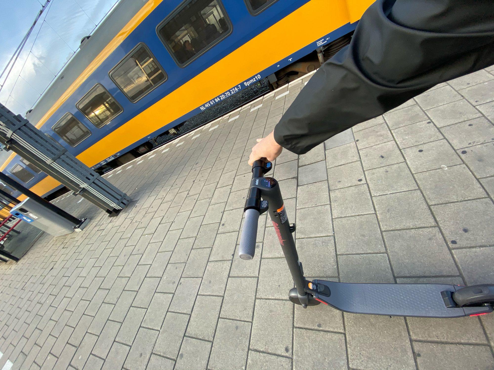 <pre>Elektriske scootere tager ti minutter af din pendel til at arbejde